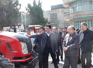 March 25, 2011, deputy director of Zhejiang Province People's Congress Cheng Wei Shan access to the company