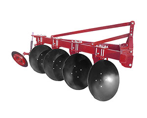 Light duty One-way disc plough