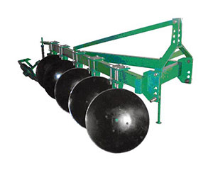 One way disc plough Specification